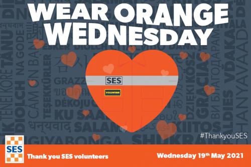 Wear orange Wednesday logo