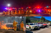 EMV web image for 1st anniversary of Victoria's fire services reform